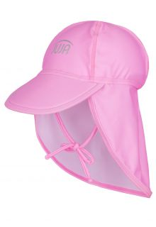 JUJA---UV-Sun-Cap-for-babies---Solid---Pink