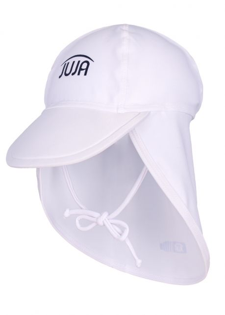 JUJA---UV-Sun-Cap-for-babies---Solid---White