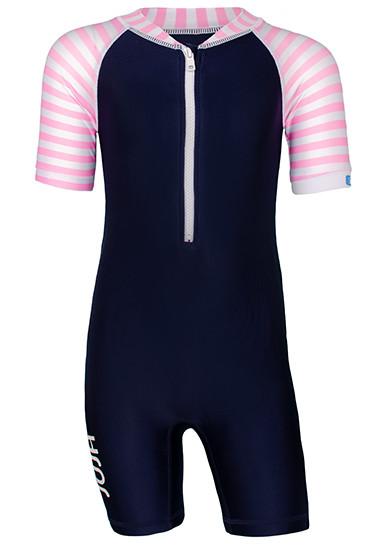 JUJA swim suit stripes blue